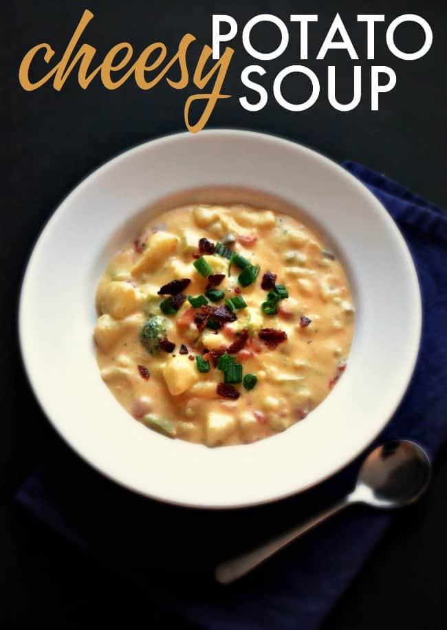 Cheesy Potato Soup  Cheesy Potato Soup
