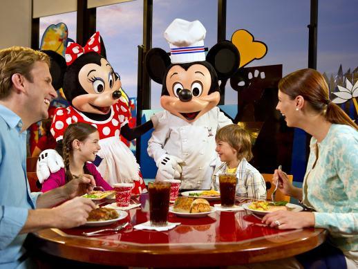 Chef Mickey Dinner  Disney VIP Character Dinner