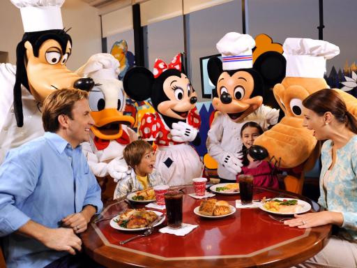 Chef Mickey Dinner  Disney VIP Character Dinner Tickets