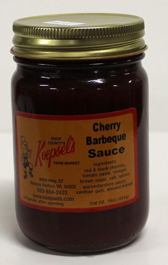 Cherry Bbq Sauce  Cherry BBQ Sauce Koepsels