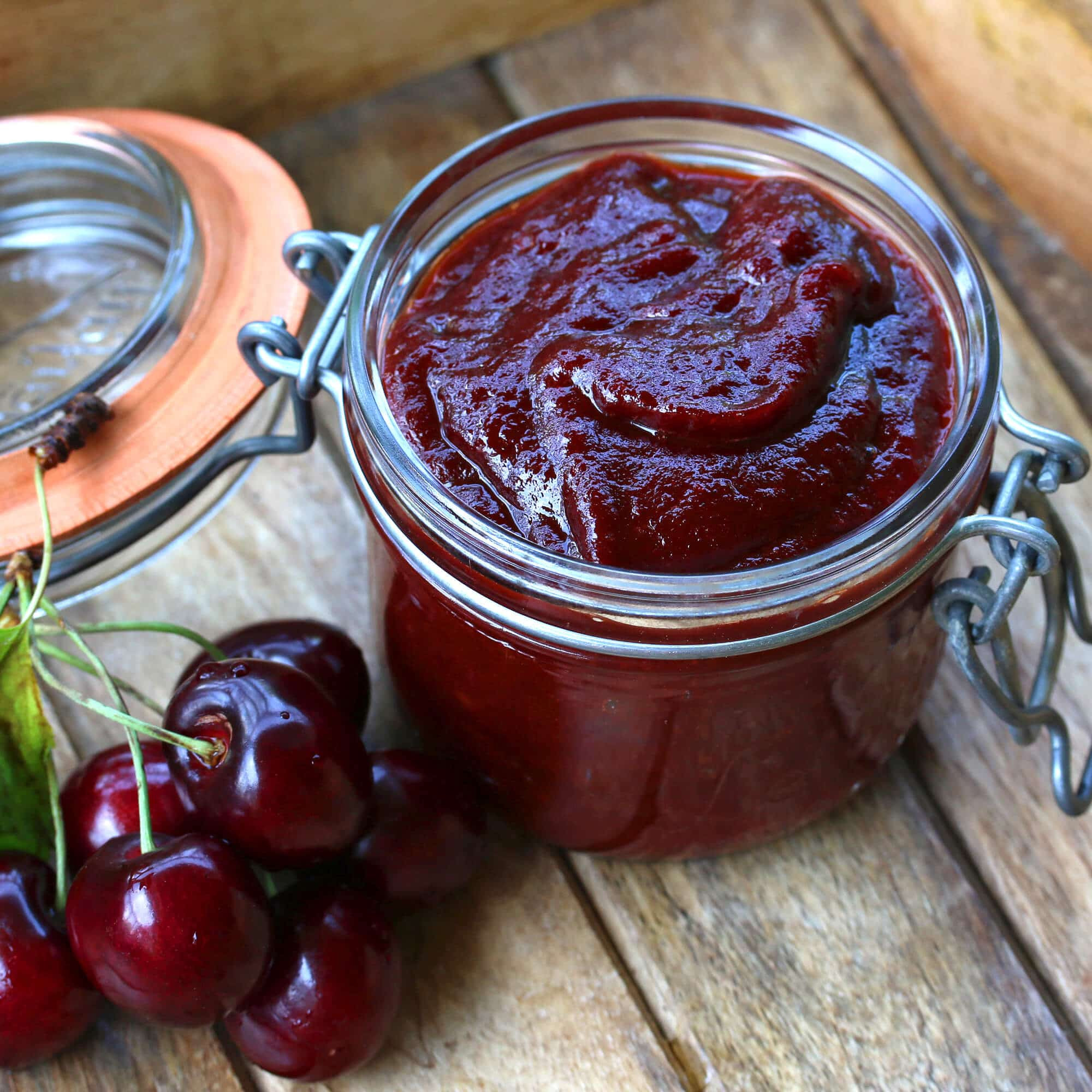 Cherry Bbq Sauce  Cherry Barbecue Sauce The Daring Gourmet