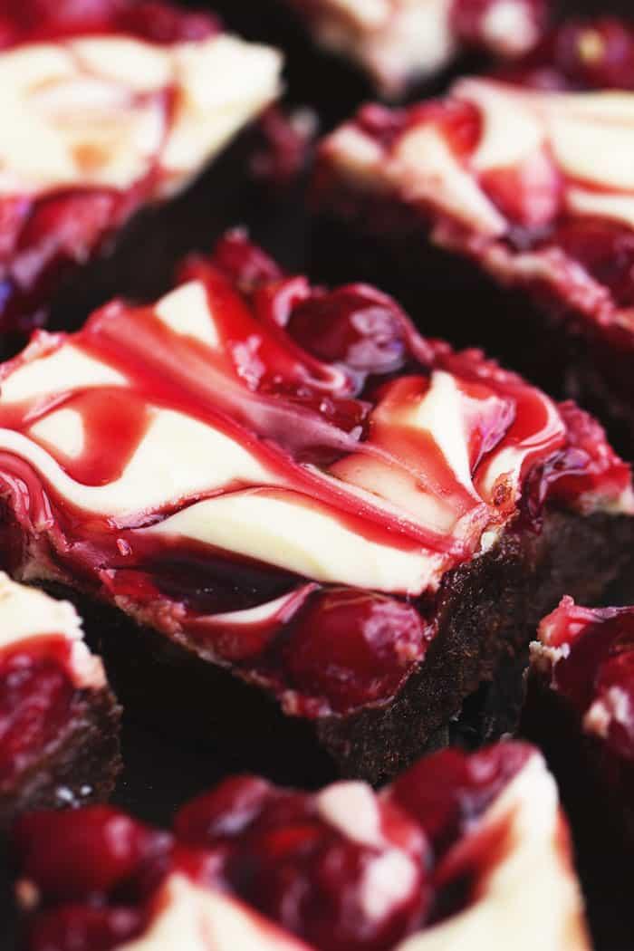 Cherry Cheesecake Brownies  Cherry Cheesecake Brownies