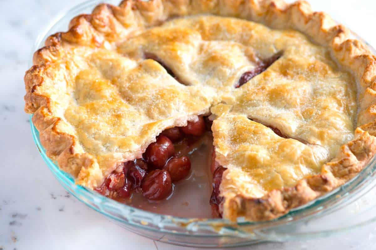 Cherry Pie Recipes  easy cherry pie recipe