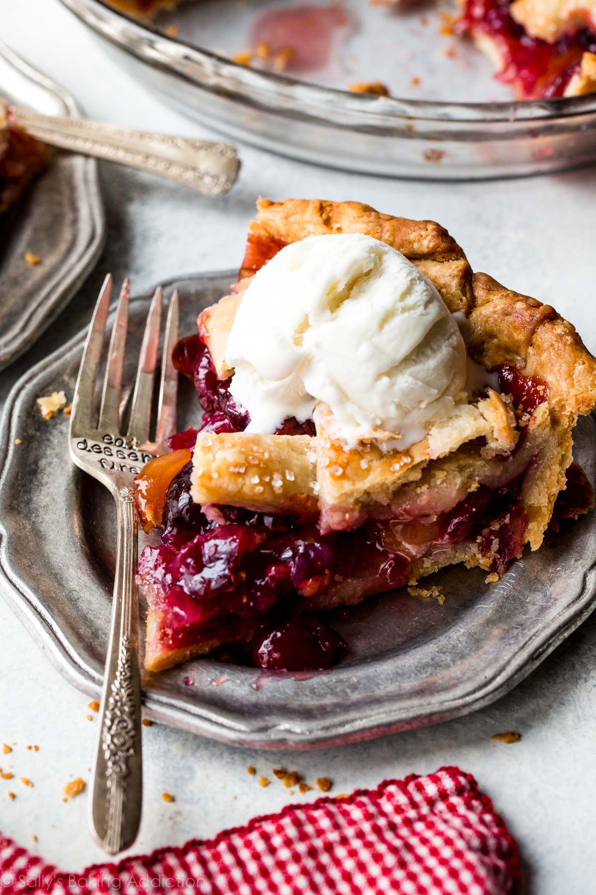 Cherry Pie Recipes  Homemade Cherry Pie Sallys Baking Addiction TheDirtyGyro