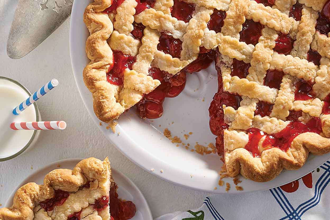 Cherry Pie Recipes  Presidential Cherry Pie Recipe