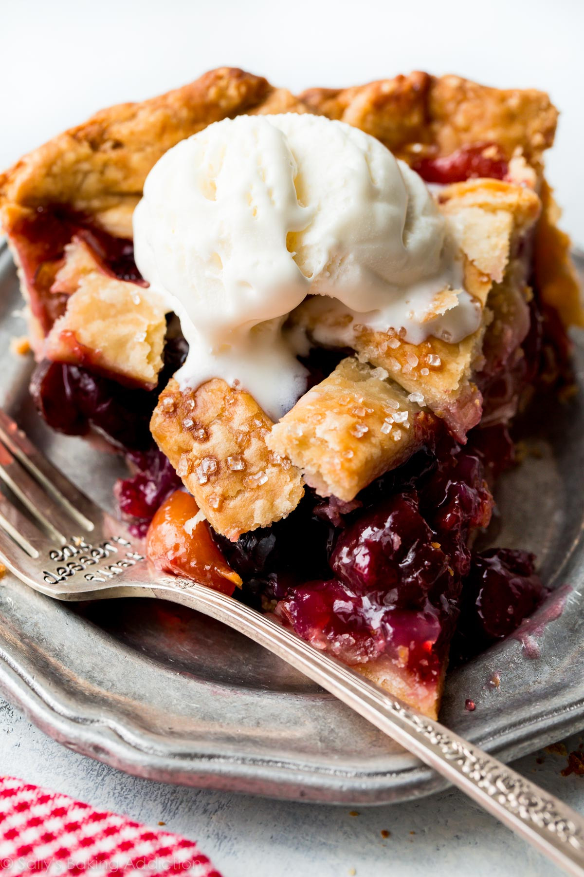 Cherry Pie Recipes  Homemade Cherry Pie Sallys Baking Addiction