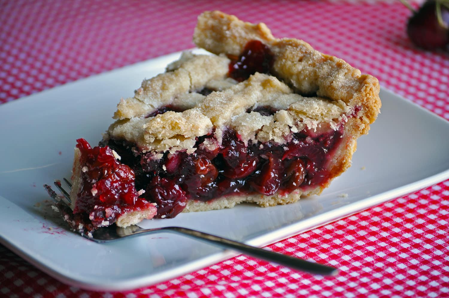 Cherry Pie Recipes  Triple Cherry Pie Recipe • Pie