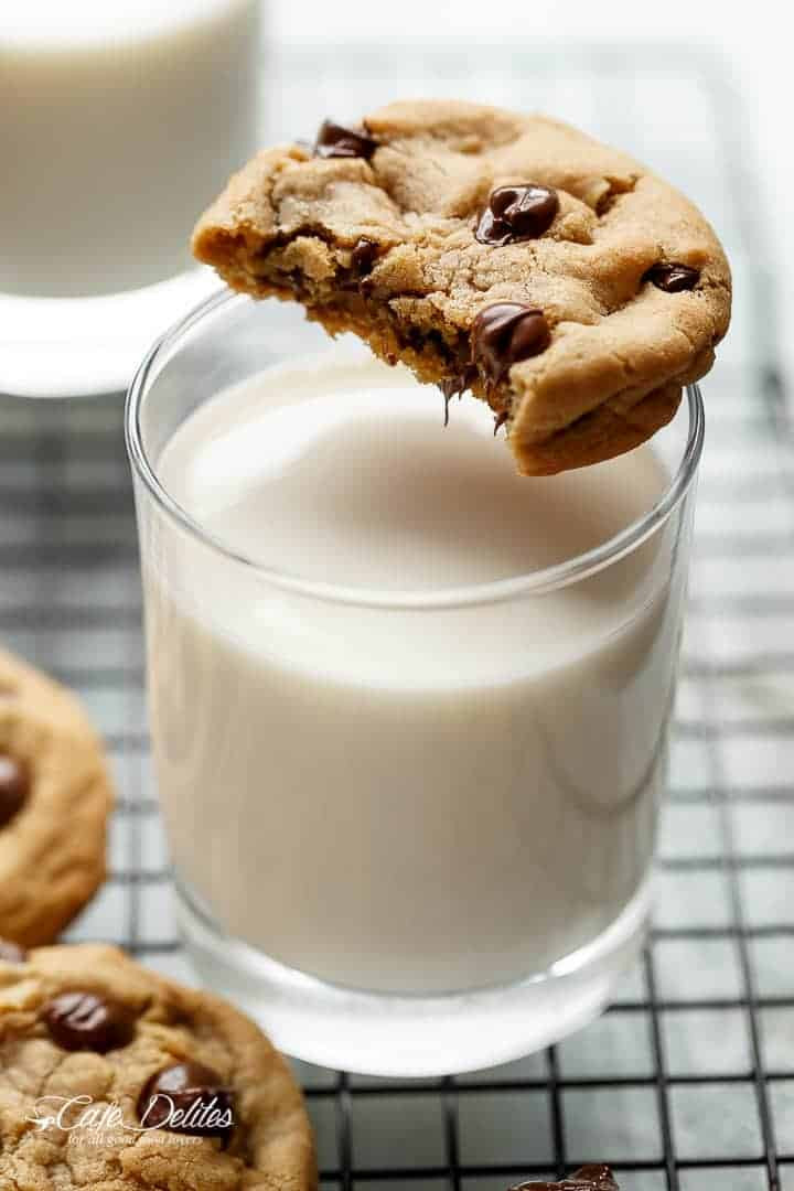 Chewy Chocolate Chip Cookies Recipe  Chocolate Chip Cookies Easy Soft Chewy Cafe Delites