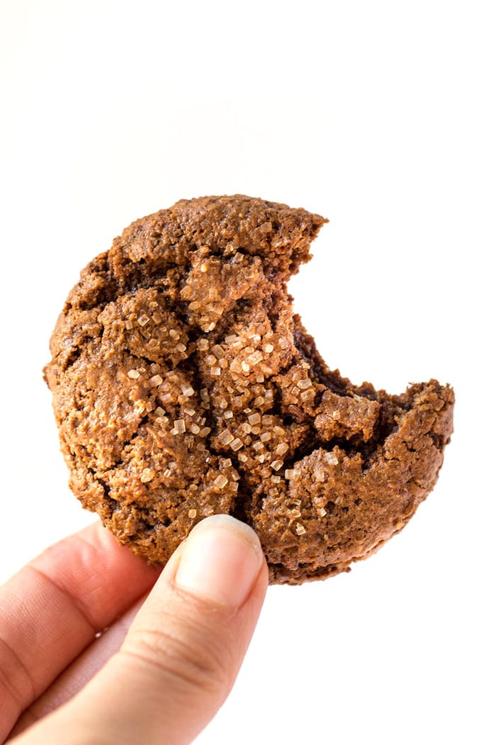 Chewy Ginger Molasses Cookies  Healthy Chewy Ginger Molasses Cookies Simply Quinoa