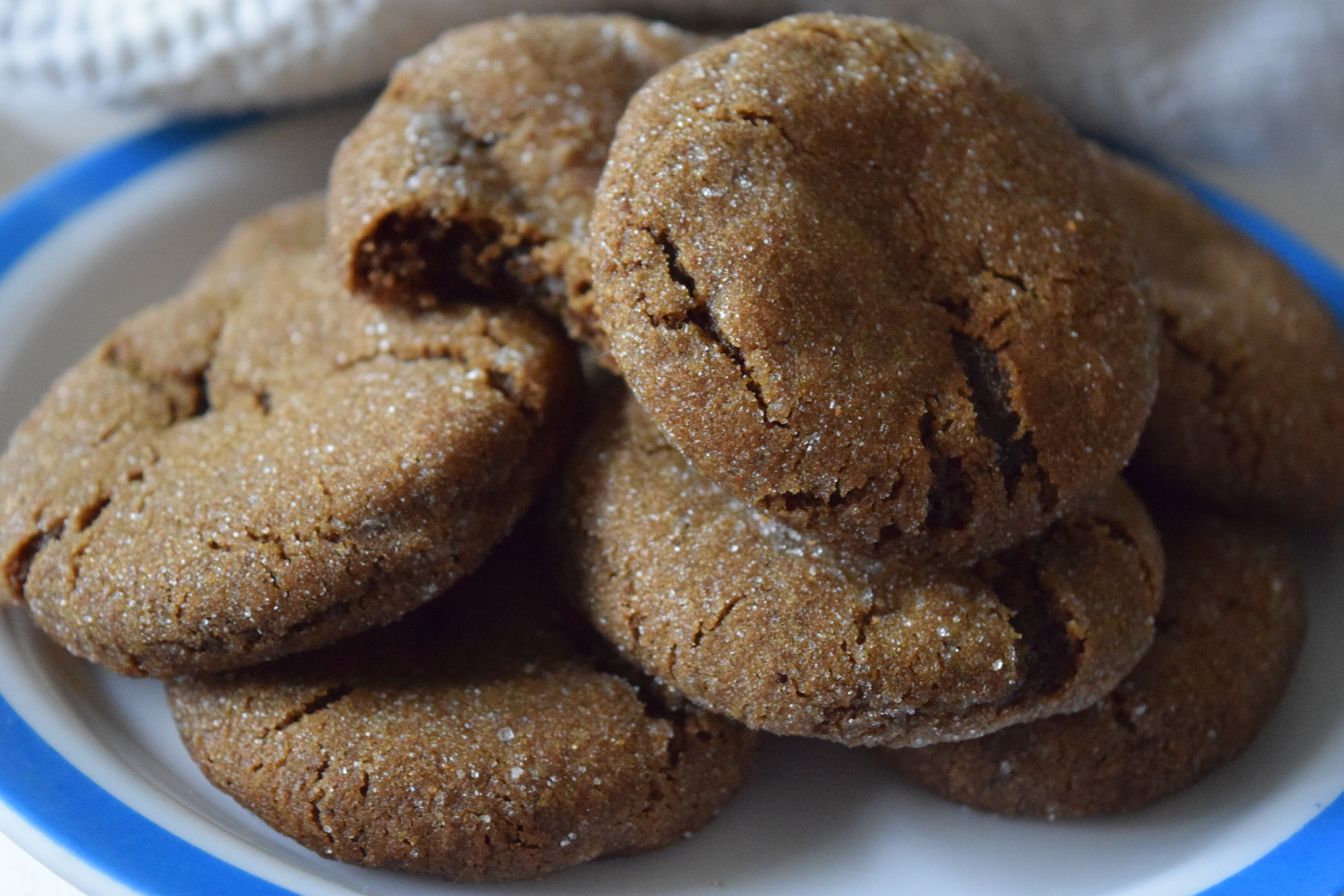 Chewy Ginger Molasses Cookies  Chewy Ginger Molasses Cookies – Ideas Times Two