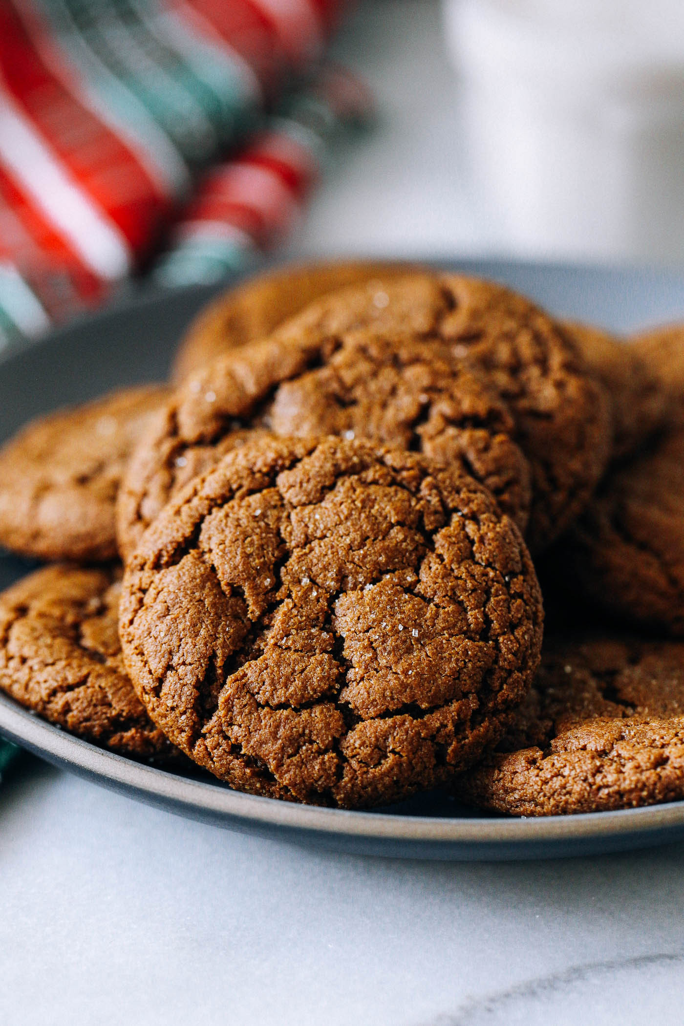 Chewy Molasses Cookies  Chewy Ginger Molasses Cookies Making Thyme for Health