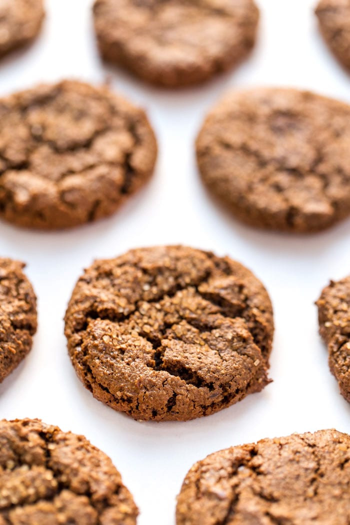 Chewy Molasses Cookies  Healthy Chewy Ginger Molasses Cookies Simply Quinoa