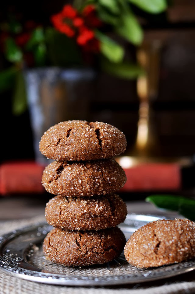 Chewy Molasses Cookies  Heart of Gold Holiday Baking Chewy Molasses Cookies