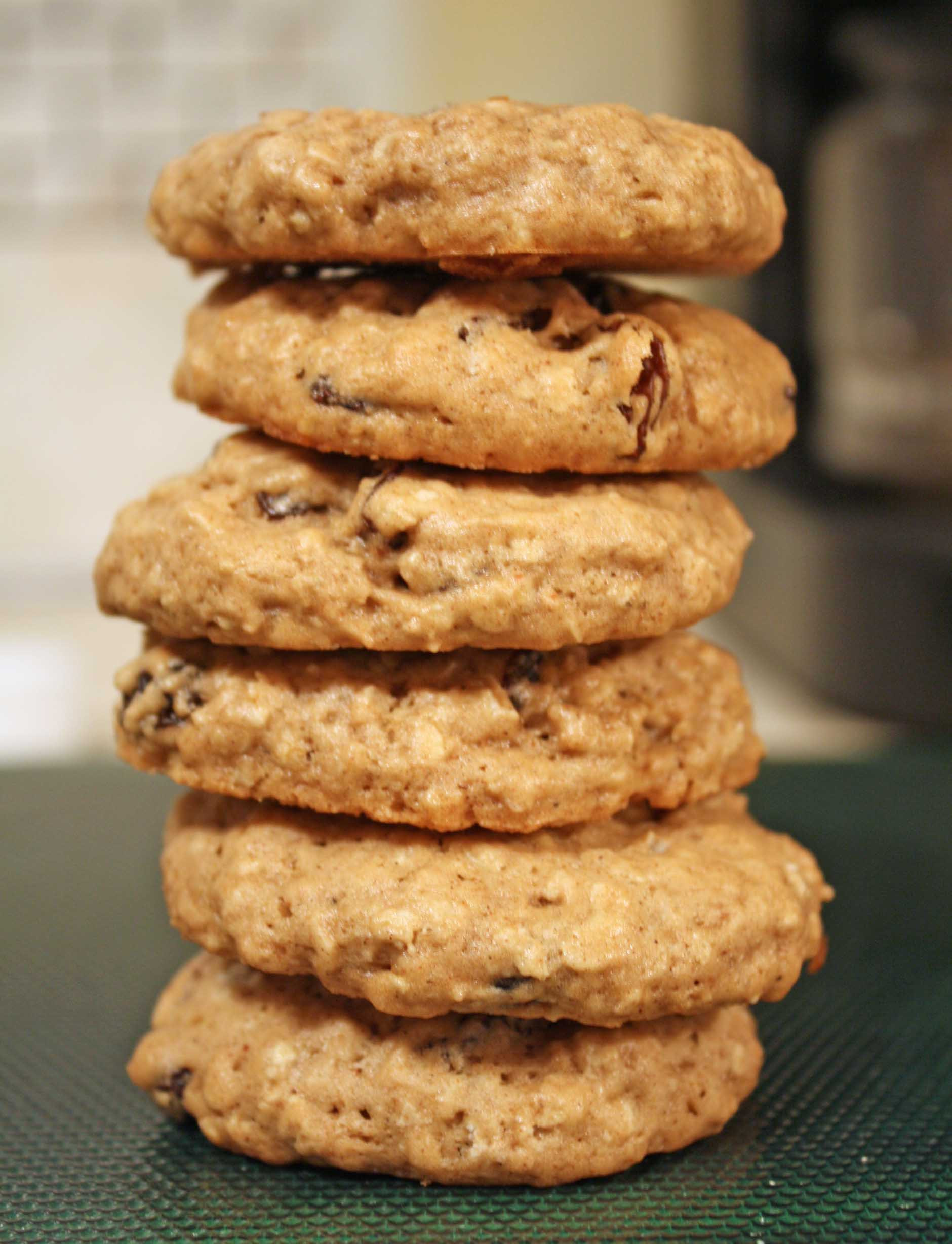 Chewy Oatmeal Cookies Recipe  Rosemary Scented Butternut Squash Risotto and Oatmeal
