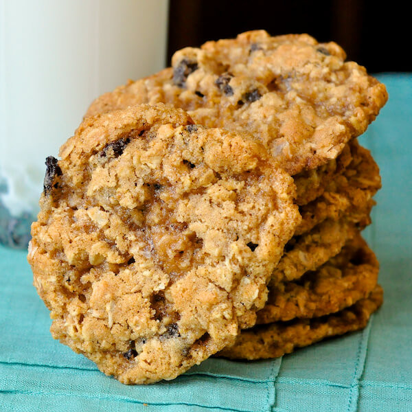Chewy Oatmeal Cookies Recipe  The Best Chewy Oatmeal Cookies an old fashioned favorite