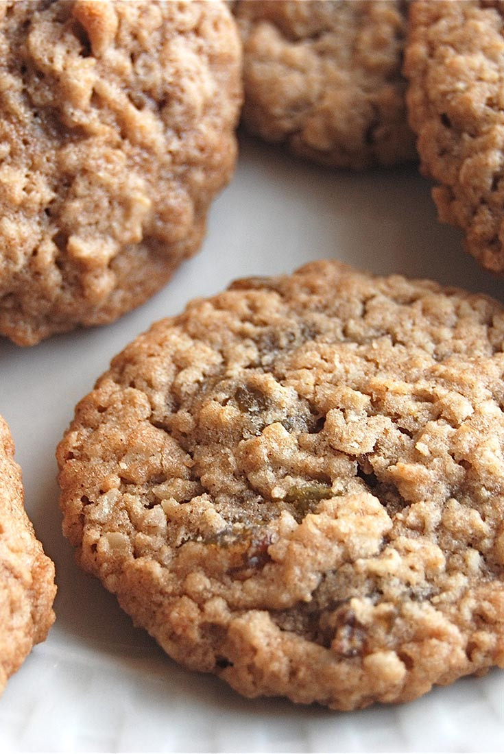 Chewy Oatmeal Cookies Recipe  Soft and Chewy Oatmeal Raisin Cookies Recipe