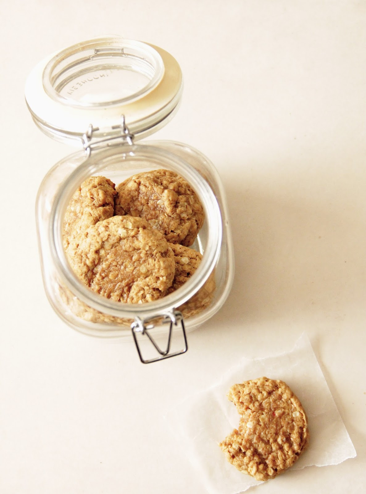 Chewy Peanut Butter Oatmeal Cookies  My Happy Place chewy peanut butter oatmeal cookies