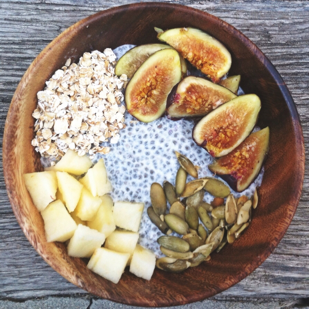 Chia Seed Breakfast Recipes  Chia Seed Breakfast Bowl Recipe — Dishmaps