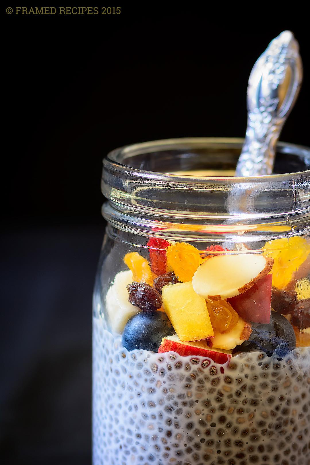 Chia Seed Breakfast Recipes  Chia Seeds Breakfast Bowl Framed Recipes
