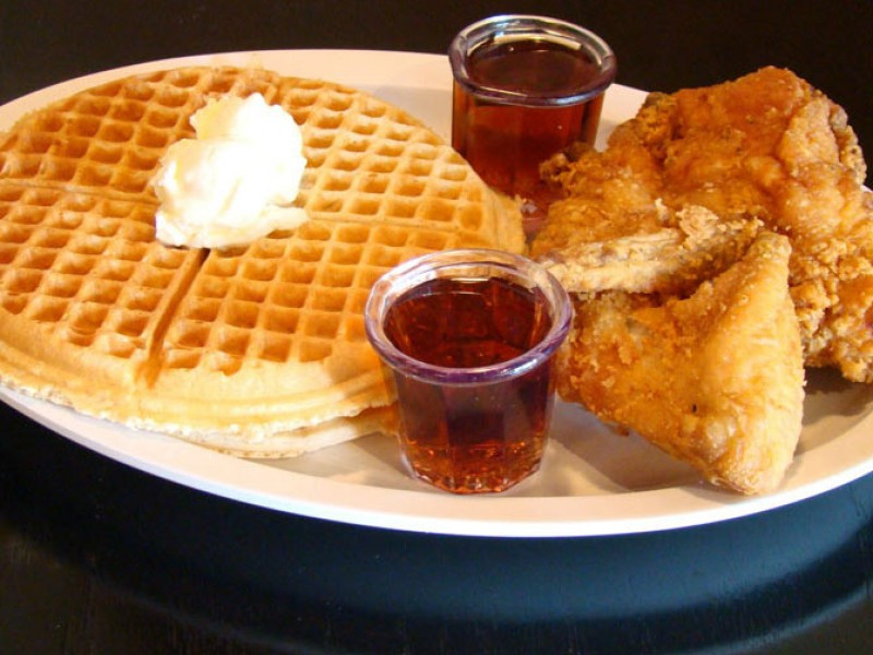 Chicago Chicken And Waffles  Chicago s Home of Chicken and Waffles Closes