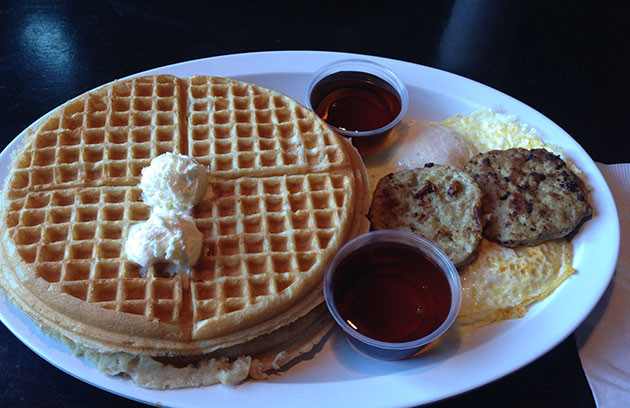 Chicago Chicken And Waffles  Cantina Laredo with a Side of Chicken and Waffles