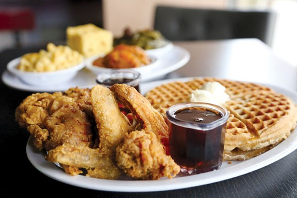 Chicago Chicken And Waffles Cleveland  In a City That Loves Its Food Nothing Satisfies Quite