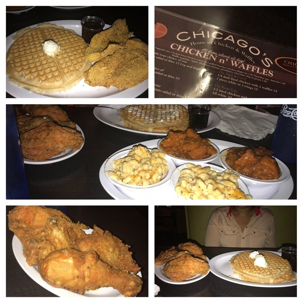 Chicago Chicken And Waffles Cleveland  Chicago's Home of Chicken & Waffles 44 s & 41