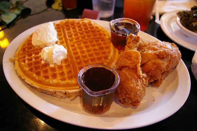 Chicago Chicken And Waffles  Chicken and Waffles