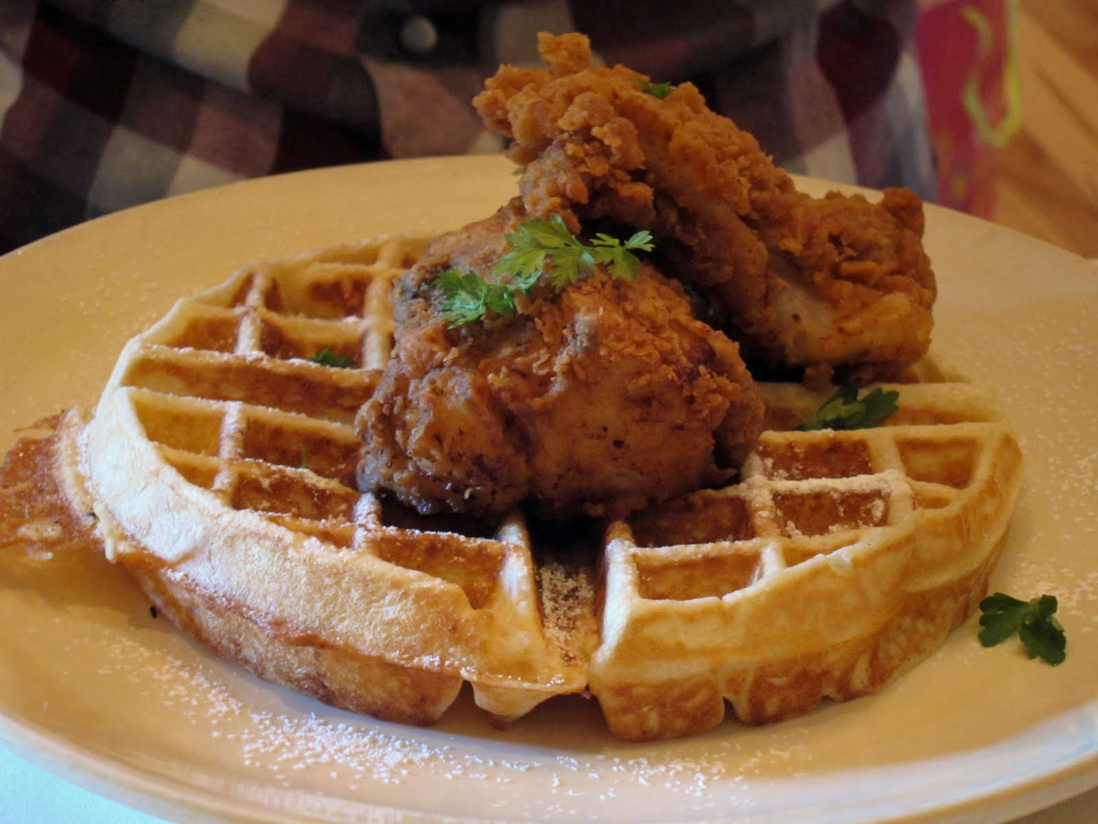 Chicago Chicken And Waffles  Near North Chicago Staycation Guide Chicken and Waffles