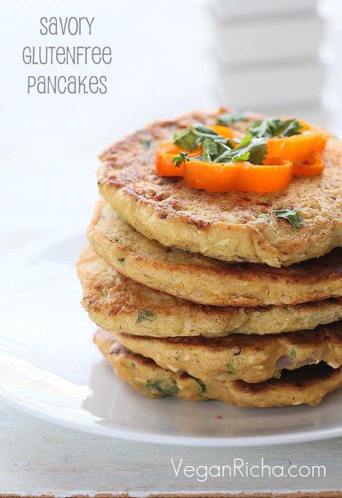 Chick Pea Flour Pancakes  Chickpea Flour Pancakes mini Omelettes with Cauliflower