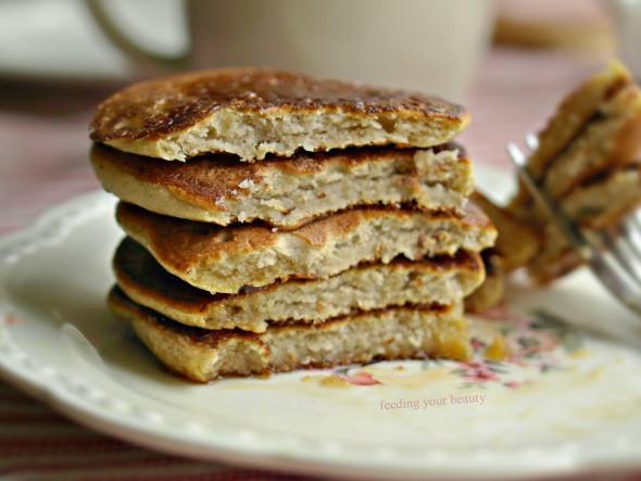 Chick Pea Flour Pancakes  5 Ingre nt Silver Dollar Sweet Chickpea Flour Pancakes