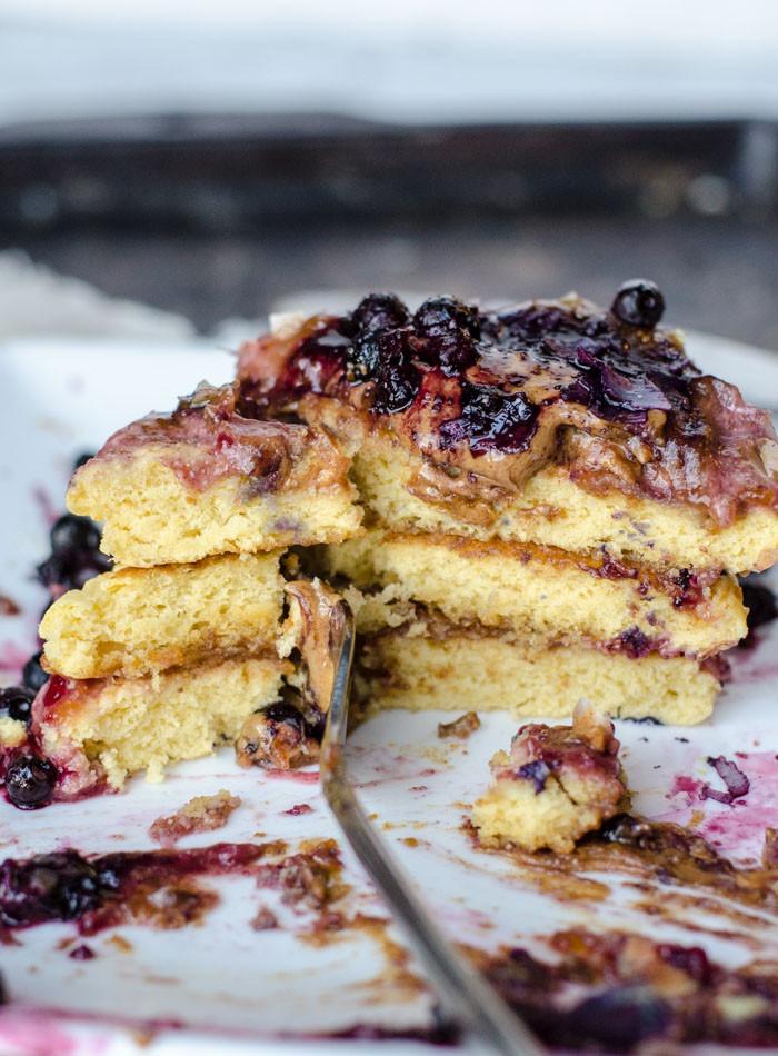 Chick Pea Flour Pancakes  Vegan Chickpea Flour Pancakes