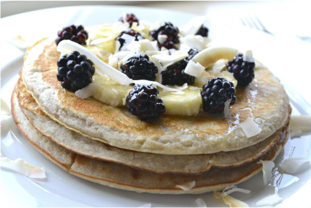 Chick Pea Flour Pancakes  Buttermilk Chickpea Flour Pancakes Grain Free Gluten