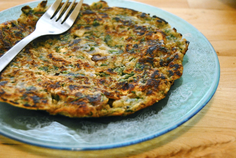 Chick Pea Flour Pancakes  Mediterranean Chickpea Flour Pancake–Breakfast Just Got