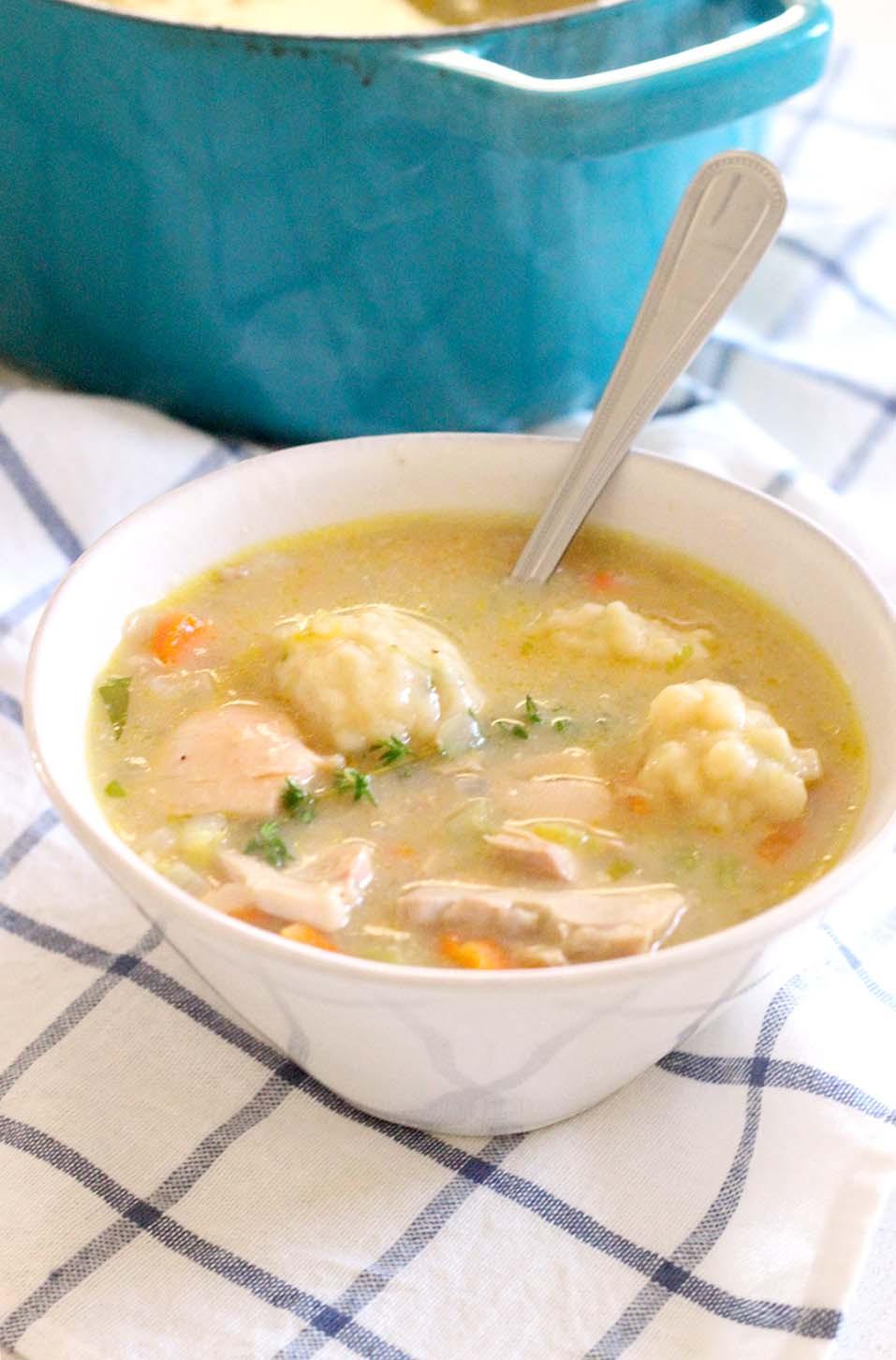 Chicken & Dumplings  Easy Chicken and Dumplings from Scratch