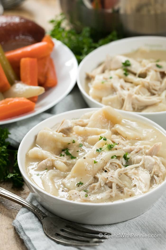 Chicken & Dumplings  Old Fashioned Chicken and Dumplings Spend With Pennies