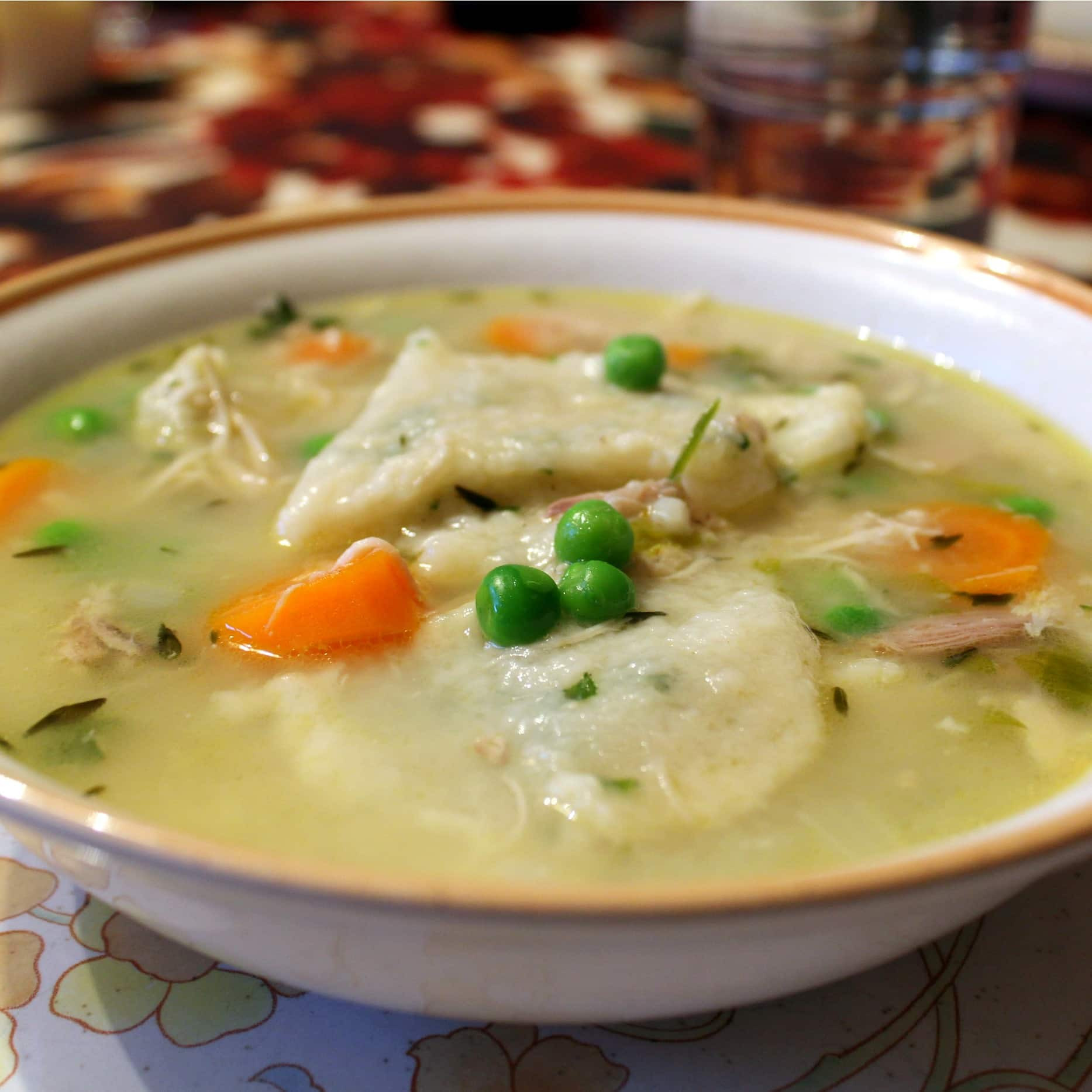 Chicken & Dumplings  Emeril s e Pot Cooking Party Southern Style Chicken and