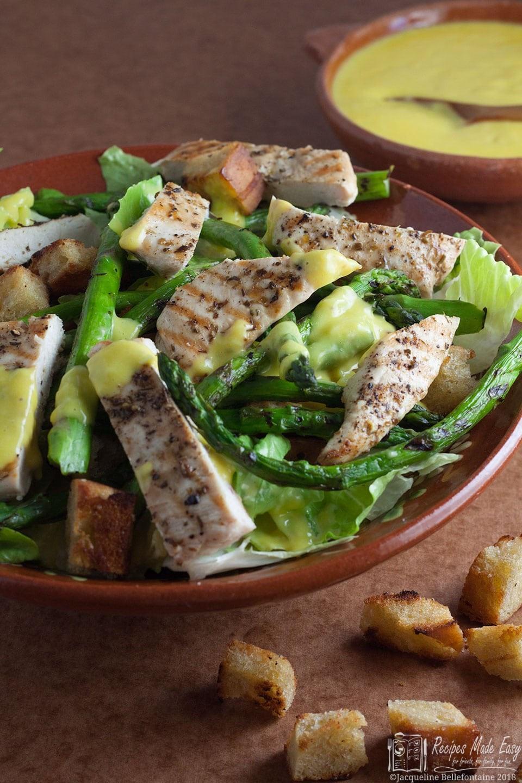 Chicken And Asparagus Recipe  Chicken and Asparagus Caesar Salad Recipes Made Easy