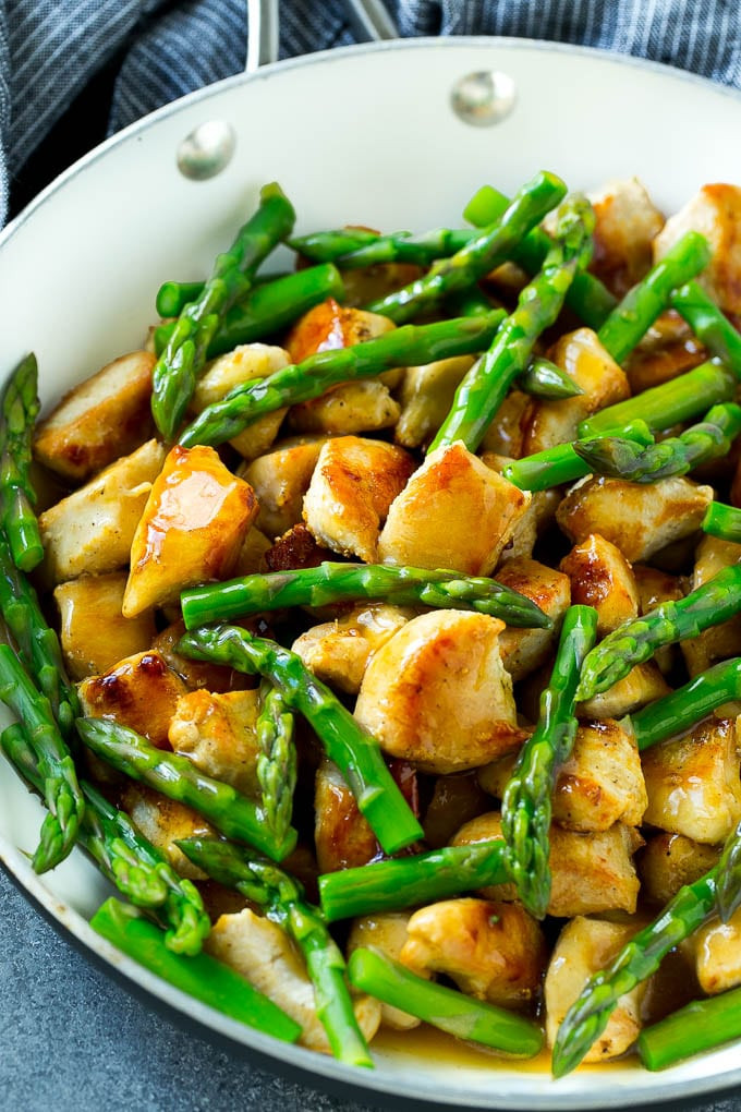 Chicken And Asparagus Recipe  Chicken and Asparagus Stir Fry Dinner at the Zoo