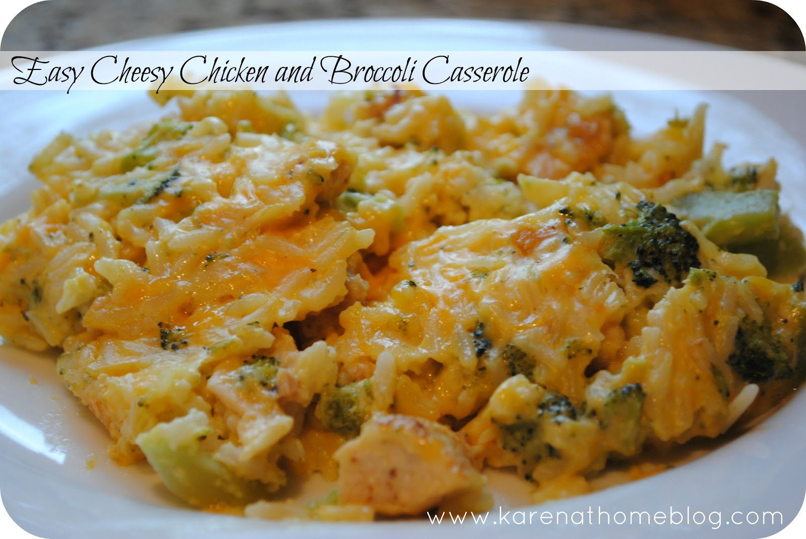 Chicken And Broccoli Bake  Karen Tucci Tips for the 40ish Easy Cheesy Chicken and