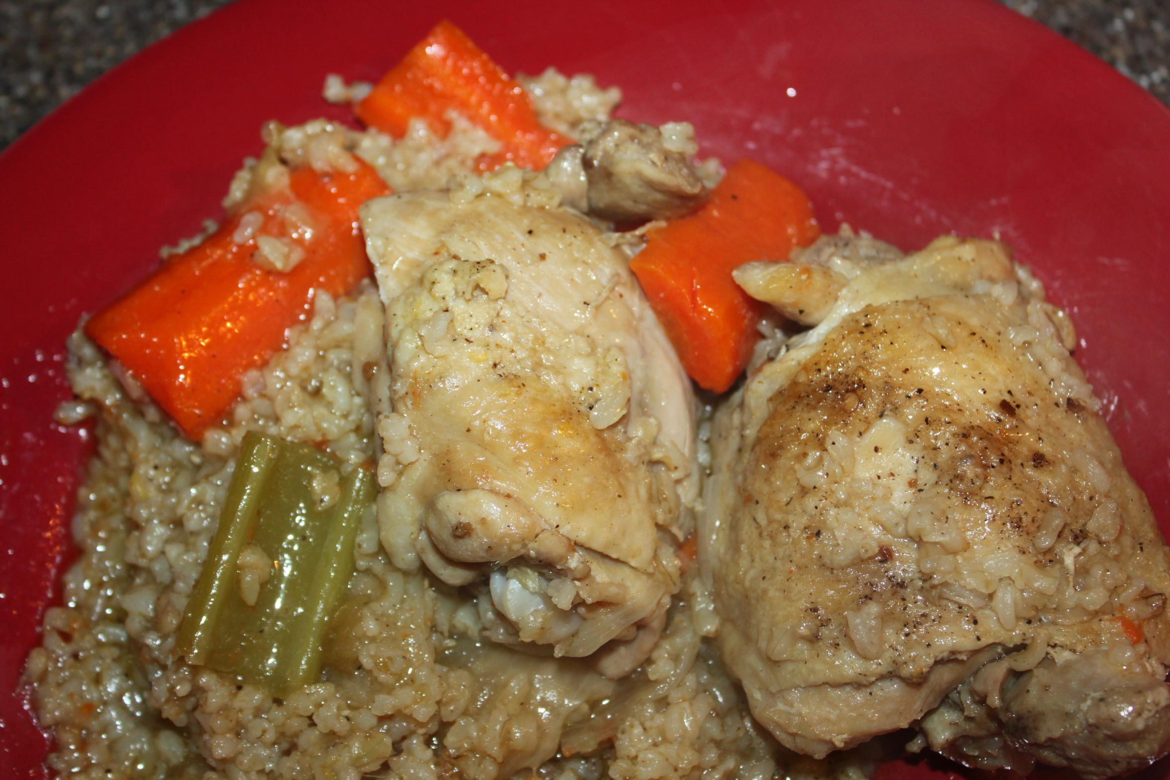 Chicken And Brown Rice  Chicken and Brown Rice Recipe A e Pot Healthy Meal