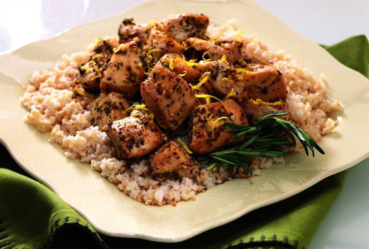 Chicken And Brown Rice  Chicken and Rice Diet Nutritional Values & Weight Loss