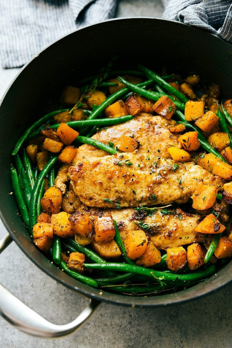 Chicken And Butternut Squash  Skillet Chicken and Butternut Squash Chelsea s Messy Apron