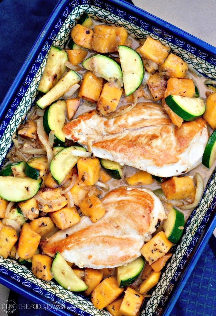 Chicken And Butternut Squash  Chicken and Butternut Squash with Coconut Cream Sauce