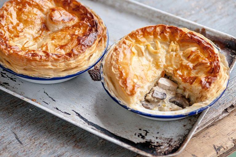 Chicken And Mushroom Pie  Chicken Leek and Mushroom Pie Recipe Great British Chefs