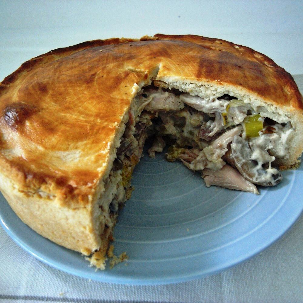 Chicken And Mushroom Pie  Savoury Pies Rolls & Plaits