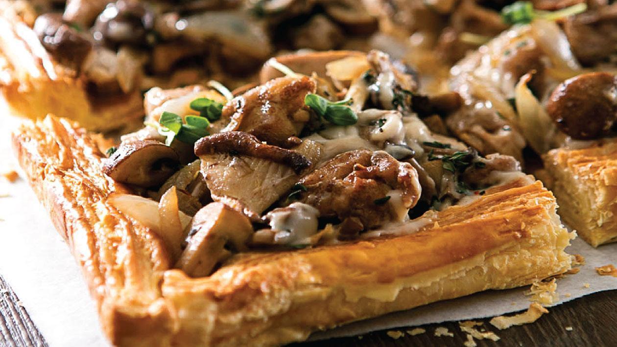 Chicken And Mushroom Pie  Chicken and Mushroom Pie
