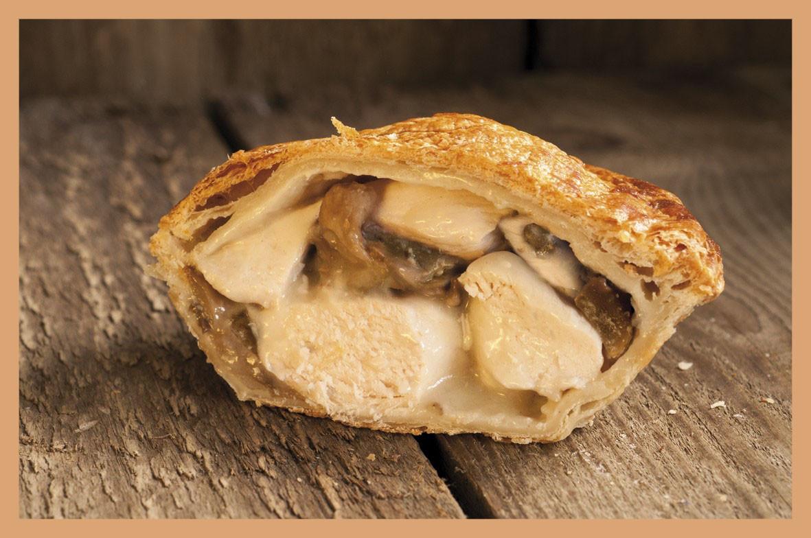 Chicken And Mushroom Pie  Individual Chicken and Mushroom Pie The Real Pie pany