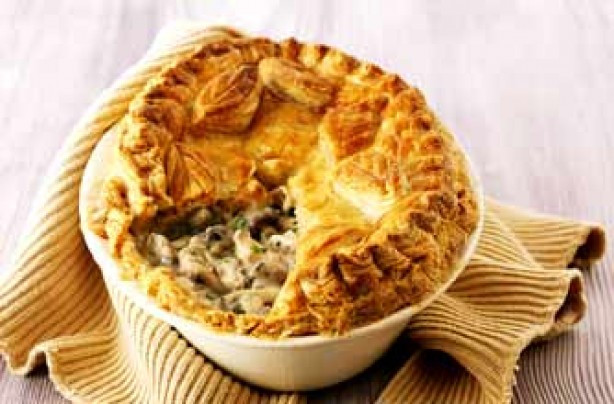 Chicken And Mushroom Pie  10 ways with mushrooms Sophie Conran s chicken and