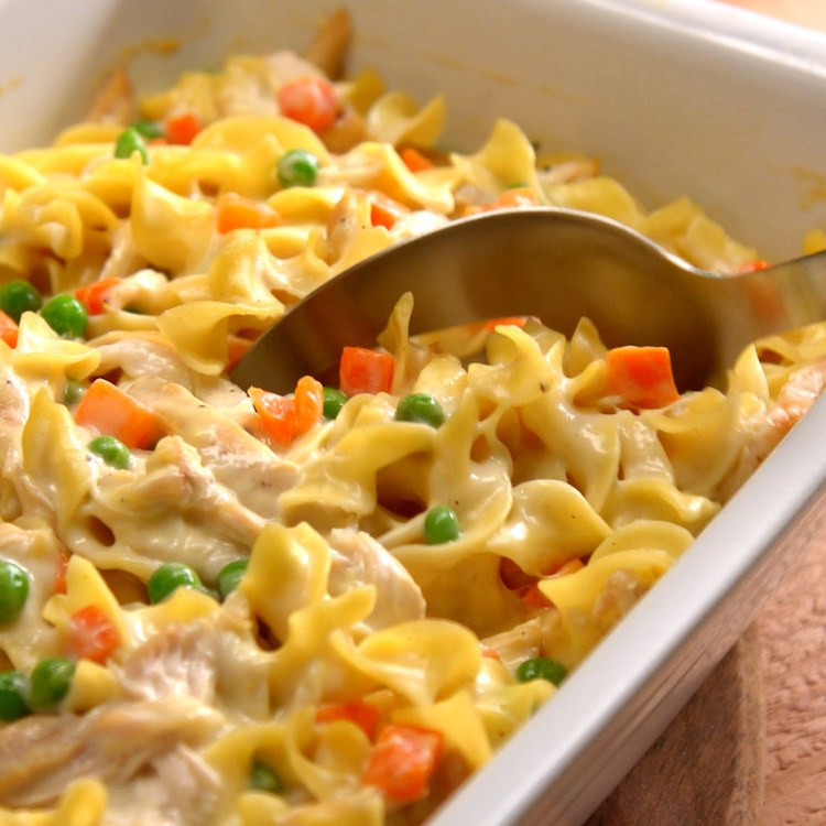 Chicken And Noodles Casserole  Best Chicken Noodle Casserole Recipe